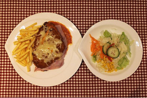 Bolognese Schnitzel